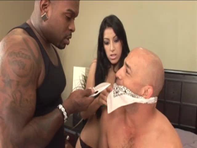 Kimberly Gates Vs Rico Strong & Scotty Coxxx (Cuck)